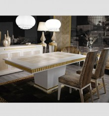 TN 4085/8 DINING TABLE COL. LOC