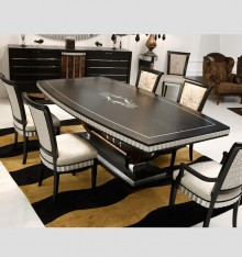 TN 4165/8 DINING TABLE COL. LOC