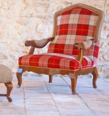 TC 1241 ARMCHAIR COL. COUNTRYSIDE