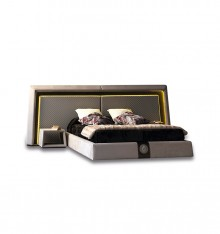 4218/21 UPHOLSTERED COMPLETE BED