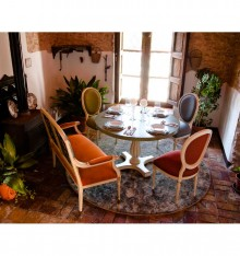 TC 4212/8 DINING TABLE COL. COUNTRYSIDE