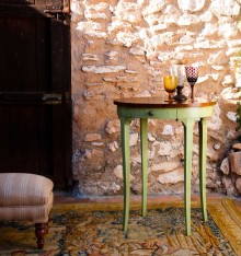 TC 4602 PEDESTAL TABLE COL. COUNTRYSIDE