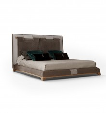 4219/21 UPHOLSTERED COMPLETE BED