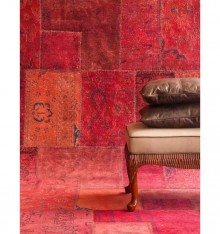 TC 7064 ALFOMBRA PERSIAN VINTAGE BURGUNDY COL. COUNTRYSIDE