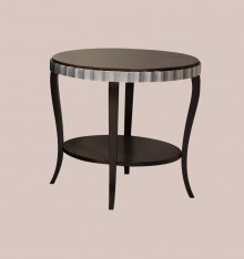TN 4069 PEDESTAL TABLE WOODEN TOP COL. CANDLE
