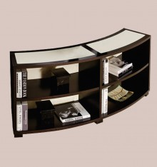 TN 4095/16 CURVED BOOKCASE COL. CANDLE