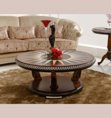 TN 4099/32 TABLE PLATEAU EN BOIS COL. CANDLE
