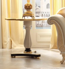 TN 4171/32 PEDESTAL TABLE COL. CANDLE
